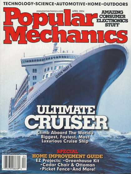 Popular Mechanics - April, 2004