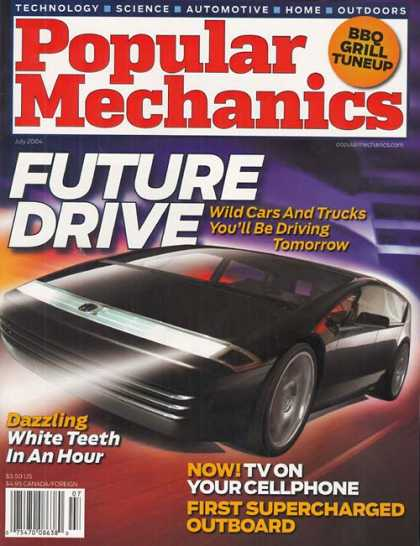 Popular Mechanics - July, 2004