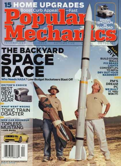 Popular Mechanics - April, 2005