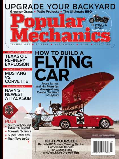 Popular Mechanics - July, 2005
