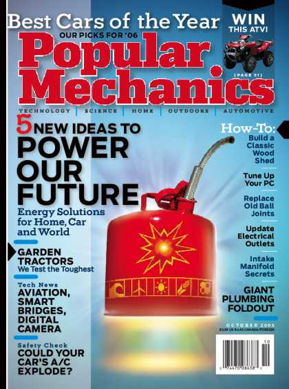 Popular Mechanics - October, 2005