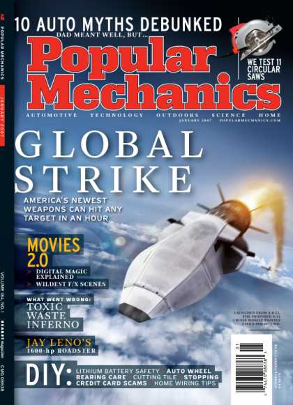 Popular Mechanics - January, 2007