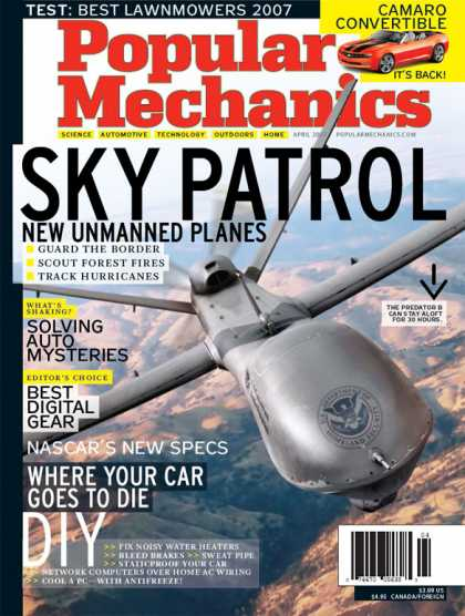 Popular Mechanics - April, 2007