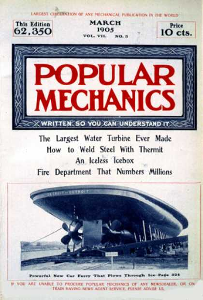 Popular Mechanics - March, 1905