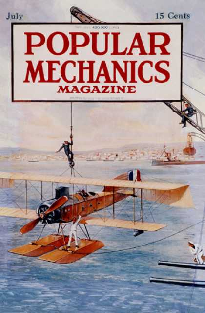 Popular Mechanics - July, 1916