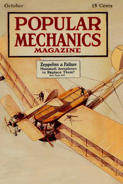Popular Mechanics - October, 1916