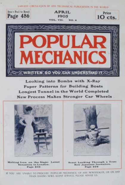 Popular Mechanics - April, 1905