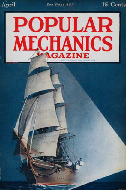 Popular Mechanics - April, 1917