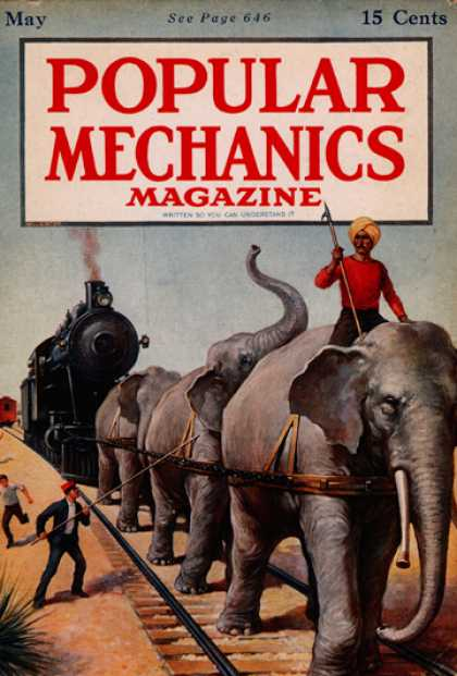 Popular Mechanics - May, 1917