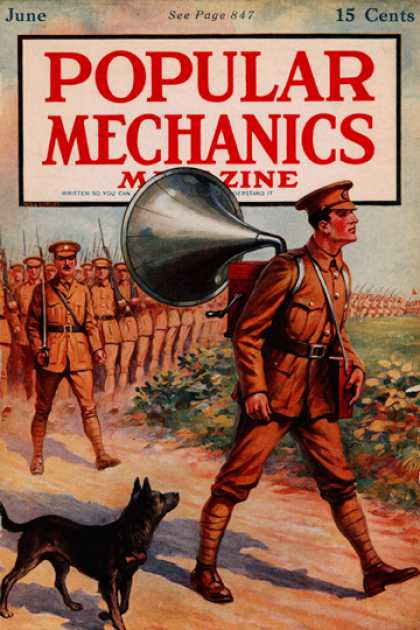 Popular Mechanics - June, 1917