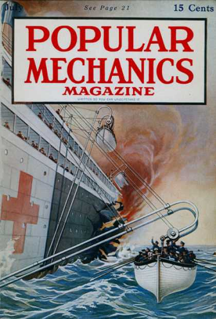 Popular Mechanics - July, 1917