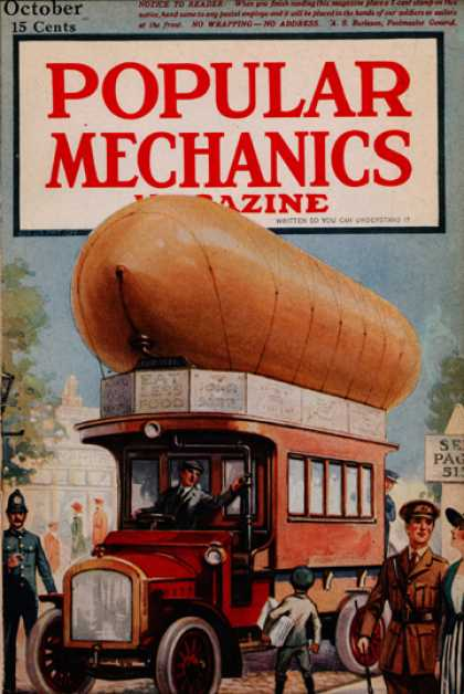 Popular Mechanics - October, 1917