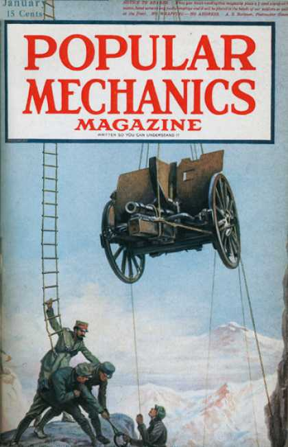 Popular Mechanics - January, 1918