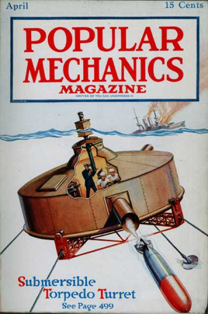 Popular Mechanics - April, 1918