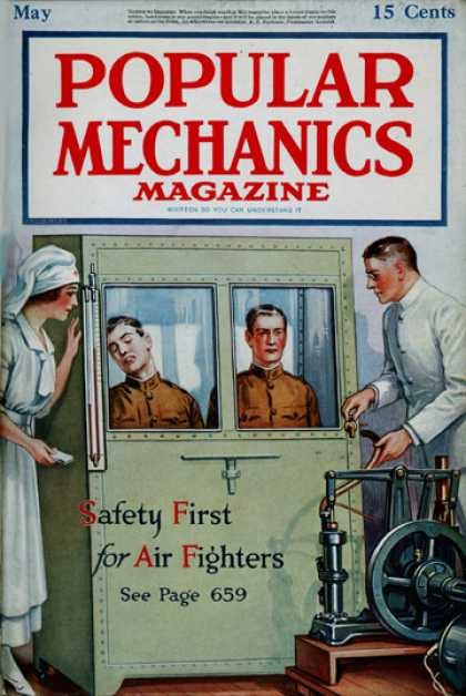 Popular Mechanics - May, 1918