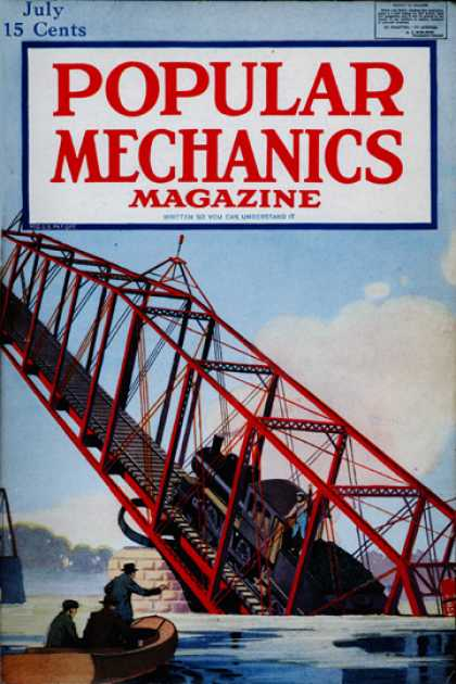 Popular Mechanics - July, 1918