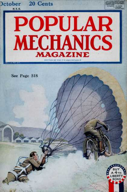 Popular Mechanics - October, 1918