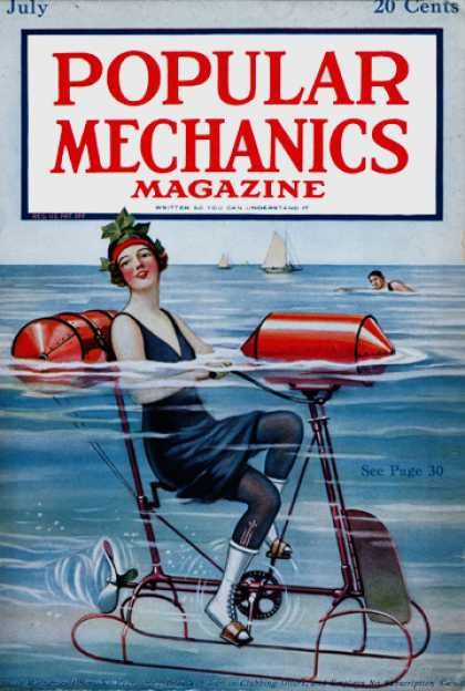 Popular Mechanics - July, 1919