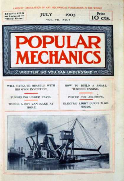 Popular Mechanics - July, 1905