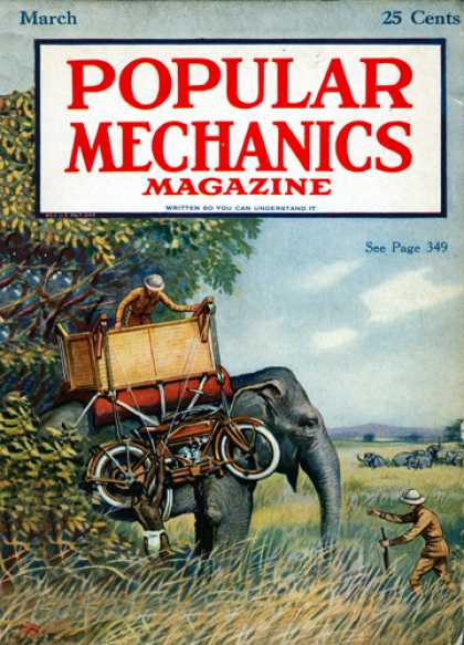 Popular Mechanics - March, 1920