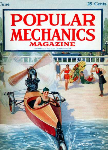 Popular Mechanics - June, 1920