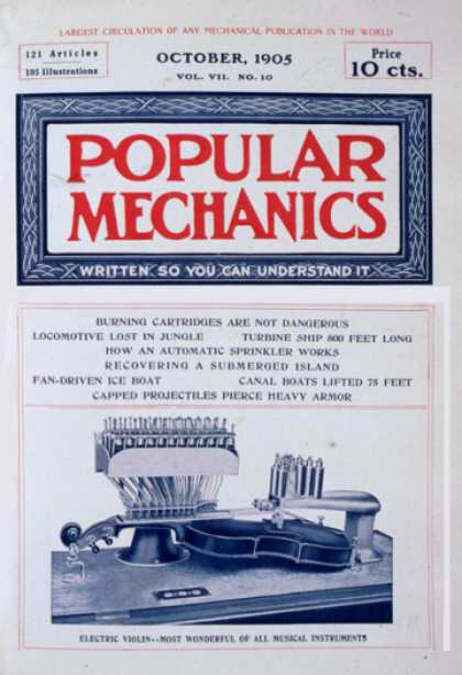 Popular Mechanics - October, 1905