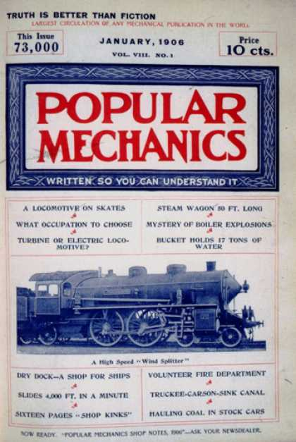 Popular Mechanics - January, 1906