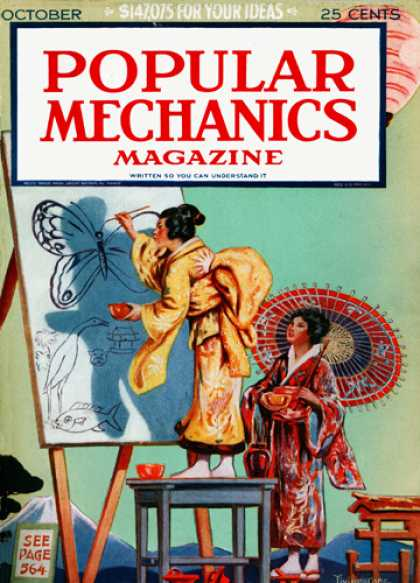 Popular Mechanics - October, 1924