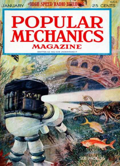Popular Mechanics - January, 1925