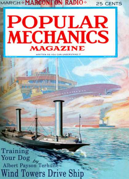 Popular Mechanics - March, 1925
