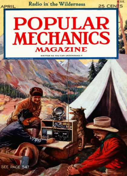 Popular Mechanics - April, 1925