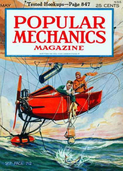 Popular Mechanics - May, 1925