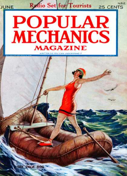 Popular Mechanics - June, 1925