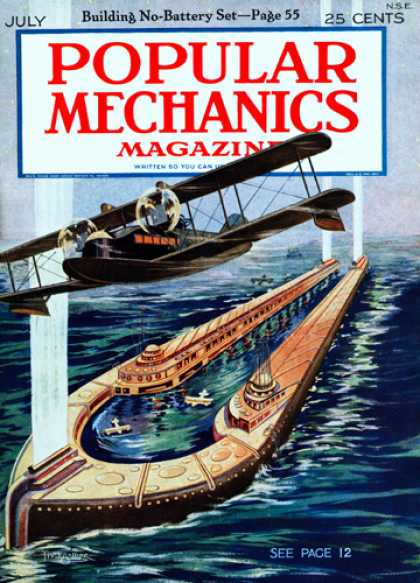 Popular Mechanics - July, 1925