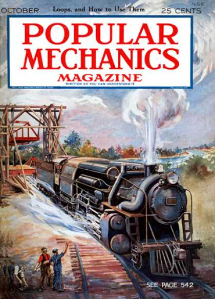 Popular Mechanics - October, 1925