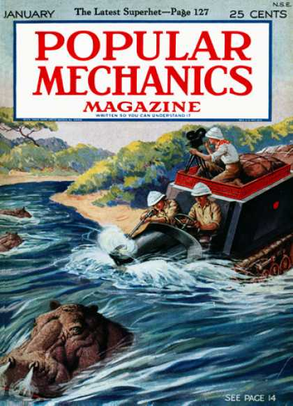 Popular Mechanics - January, 1926