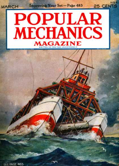 Popular Mechanics - March, 1926