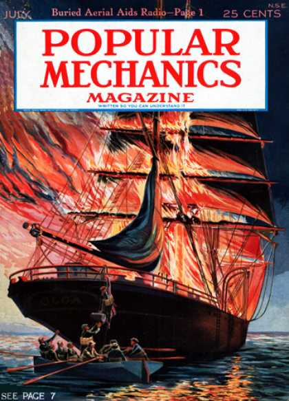 Popular Mechanics - July, 1926