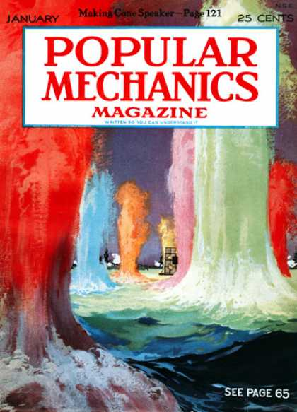 Popular Mechanics - January, 1927