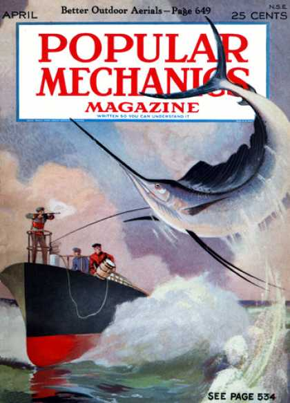 Popular Mechanics - April, 1927