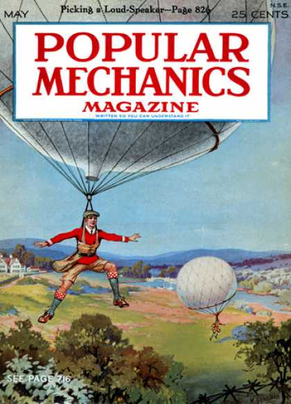 Popular Mechanics - May, 1927