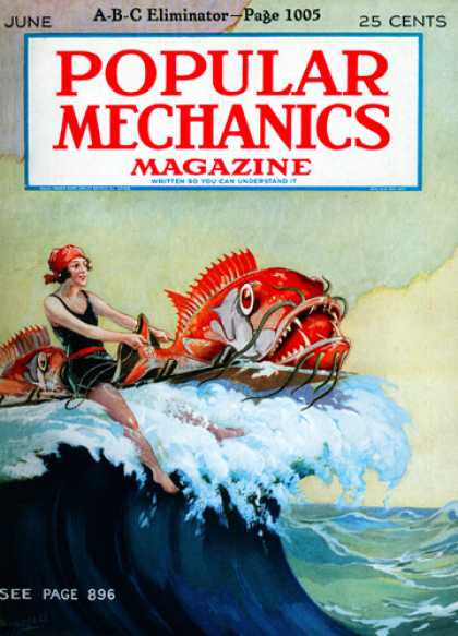 Popular Mechanics - June, 1927