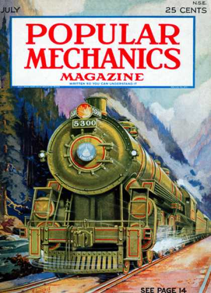 Popular Mechanics - July, 1927
