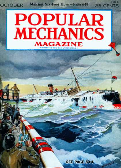 Popular Mechanics - October, 1927