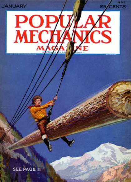 Popular Mechanics - January, 1928
