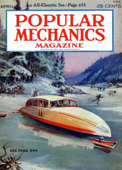Popular Mechanics - April, 1928