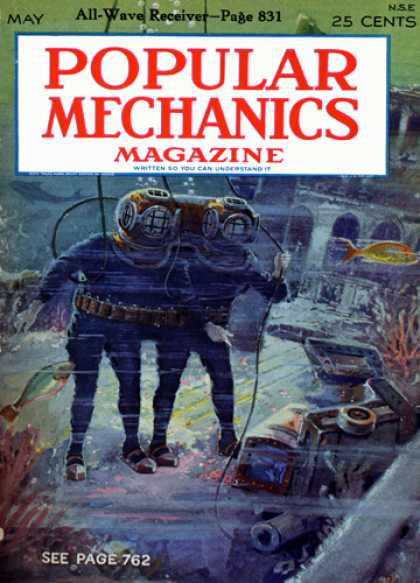 Popular Mechanics - May, 1928