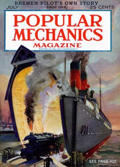 Popular Mechanics - July, 1928