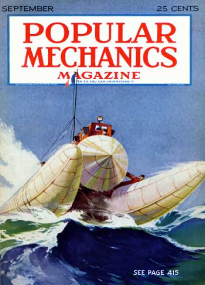 Popular Mechanics - September, 1928