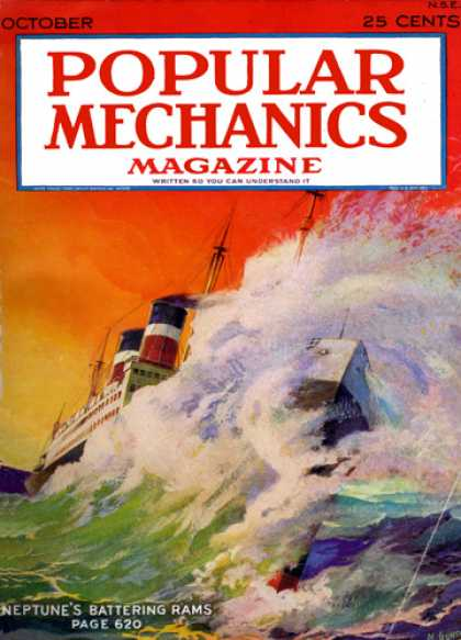 Popular Mechanics - October, 1928